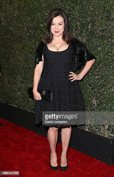 Actress Jennifer Tilly attends the 2014 Writers Guild Awards LA Ceremony at JW Marriott Los Angeles at LA LIVE on February 1 2014 in Los Angeles...