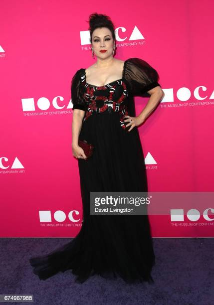 Actress Jennifer Tilly attends the 2017 MOCA Gala at The Geffen Contemporary at MOCA on April 29 2017 in Los Angeles California