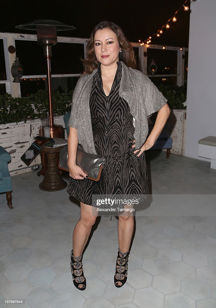 Actress Jennifer Tilly attends the Baku Magazine Party at Soho Beach House during Miami Art Basel on December 4, 2012 in Miami Beach, Florida. Baku Magazine is dedicated to promoting contemporary art and culture in Azerbaijan.