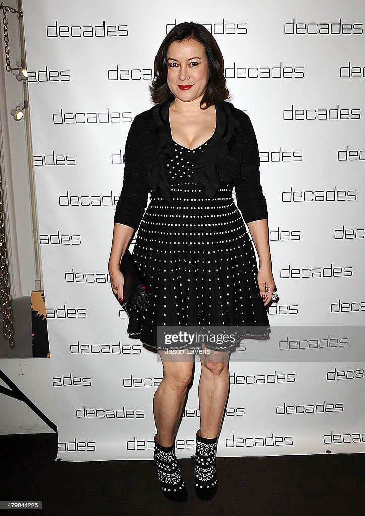 Actress <a gi-track='captionPersonalityLinkClicked' href=/galleries/search?phrase=Jennifer+Tilly&family=editorial&specificpeople=202575 ng-click='$event.stopPropagation()'>Jennifer Tilly</a> attends the Decades: Les Must De Moschino event at Decades on March 20, 2014 in Los Angeles, California.