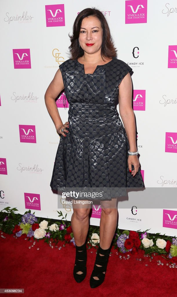 Actress <a gi-track='captionPersonalityLinkClicked' href=/galleries/search?phrase=Jennifer+Tilly&family=editorial&specificpeople=202575 ng-click='$event.stopPropagation()'>Jennifer Tilly</a> attends the Vivica A. Fox 50th birthday celebration at Philippe Chow on August 2, 2014 in Beverly Hills, California.