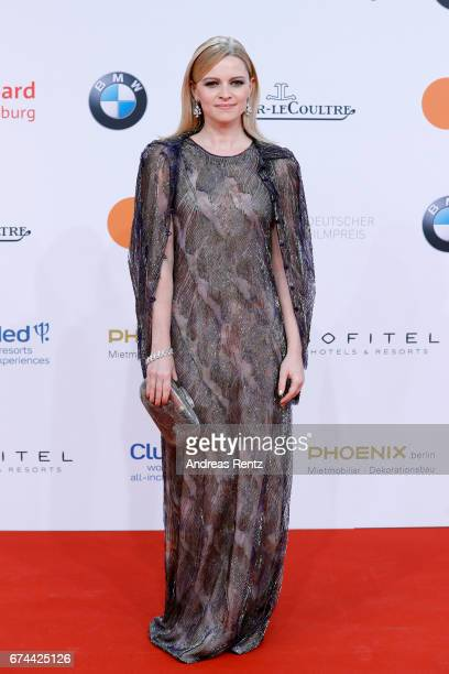 Actress Jennifer Ulrich attends the Lola German Film Award red carpet at Messe Berlin on April 28 2017 in Berlin Germany