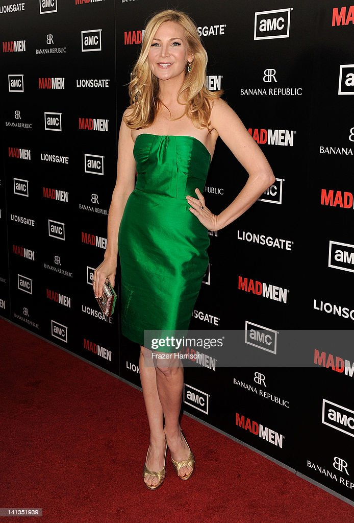 Actress Jennifer Westfeldt arrive at the Premiere of AMC's 'Mad Men' Season 5 at ArcLight Cinemas on March 14, 2012 in Hollywood, California.
