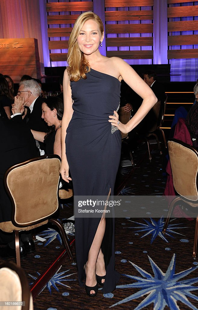 Actress Jennifer Westfeldt attends the 15th Annual Costume Designers Guild Awards with presenting sponsor Lacoste at The Beverly Hilton Hotel on February 19, 2013 in Beverly Hills, California.