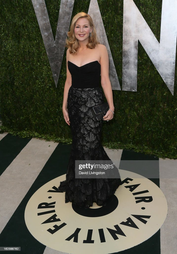 Actress Jennifer Westfeldt attends the 2013 Vanity Fair Oscar Party at the Sunset Tower Hotel on February 24, 2013 in West Hollywood, California.