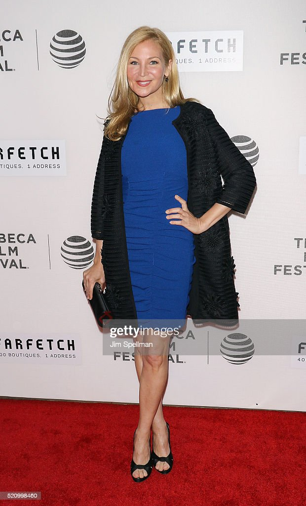Actress Jennifer Westfeldt attends the 2016 Tribeca Film Festival opening night world premiere of 'The First Monday In May' at John Zuccotti Theater at BMCC Tribeca Performing Arts Center on April 13, 2016 in New York City.