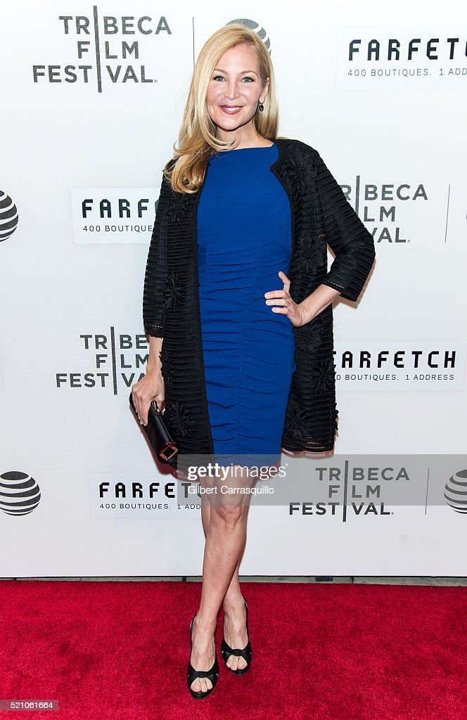 Actress Jennifer Westfeldt attends 'The First Monday In May' World Premiere during Opening Night of 2016 Tribeca Film Festival at John Zuccotti Theater at BMCC Tribeca Performing Arts Center on April 13, 2016 in New York City.