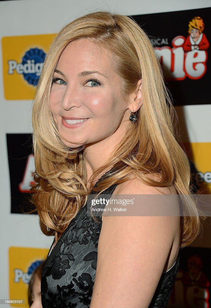 Actress Jennifer Westfeldt attends the opening night of 'Annie' on Broadway at Palace Theatre on November 8 2012 in New York City