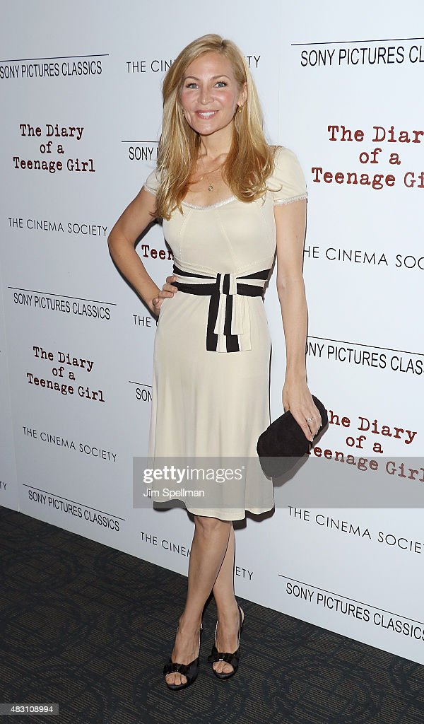 Actress Jennifer Westfeldt attends the Sony Pictures Classics with The Cinema Society host a screening of 'The Diary Of A Teenage Girl' at Landmark's Sunshine Cinema on August 5, 2015 in New York City.