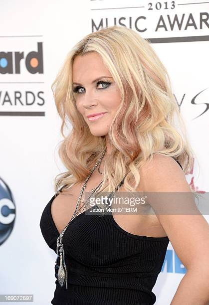 Actress Jenny McCarthy arrives at the 2013 Billboard Music Awards at the MGM Grand Garden Arena on May 19 2013 in Las Vegas Nevada
