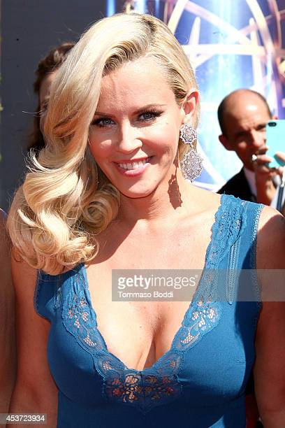 Actress Jenny McCarthy attends the 2014 Creative Arts Emmy Awards held at the Nokia Theatre LA Live on August 16 2014 in Los Angeles California