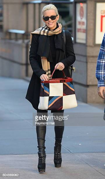 Actress Jenny McCarthy is seen walking in Midtown on January 11 2016 in New York City