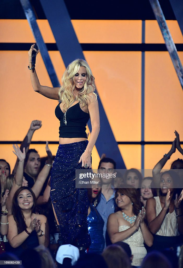 Actress Jenny McCarthy speaks onstage during the 2013 Billboard Music Awards at the MGM Grand Garden Arena on May 19, 2013 in Las Vegas, Nevada.