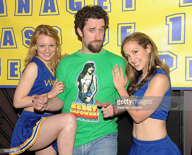 Actress Jenny Peters actor Dustin Diamond and actress Victoria Broadhurst join the cast of 'The Awesome 80's Prom at Webster Hall on May 21 2010 in...