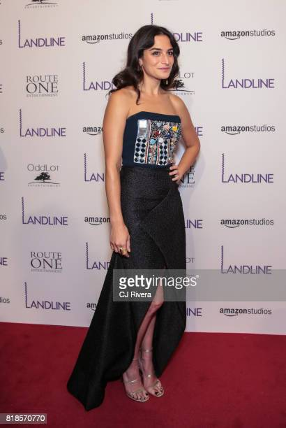 Actress Jenny Slate attends the New York premiere of 'Landline' at The Metrograph on July 18 2017 in New York City