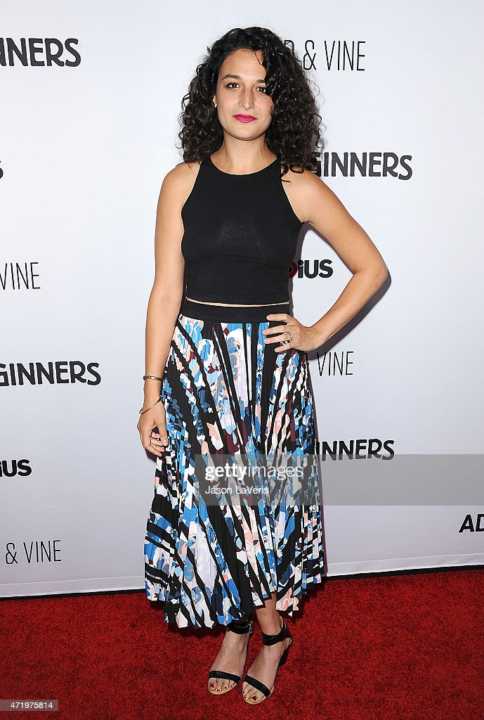 Actress Jenny Slate attends the premiere of 'Adult Beginners' at ArcLight Hollywood on April 15 2015 in Hollywood California