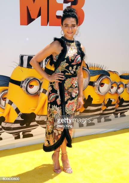 Actress Jenny Slate attends the premiere of Universal Pictures And Illumination Entertainment's 'Despicable Me 3' at The Shrine Auditorium on June 24...