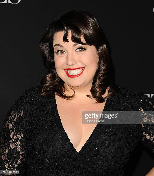 Actress Jenny Zigrino attends the premiere of 'Fifty Shades of Black' at Regal Cinemas LA Live on January 26 2016 in Los Angeles California