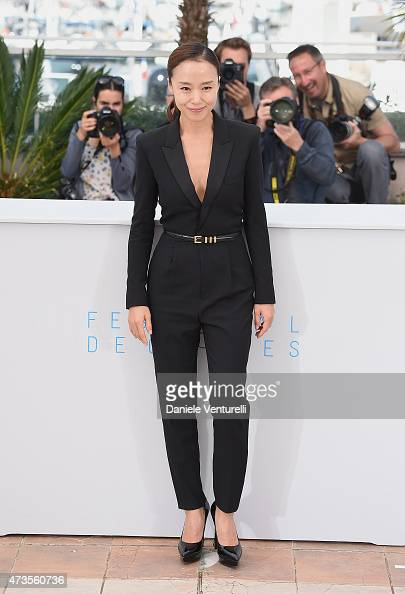 Actress Jeon Doyeon attends the 'MuRoeHan The Shameless' Photocall during the 68th annual Cannes Film Festival on May 16 2015 in Cannes France