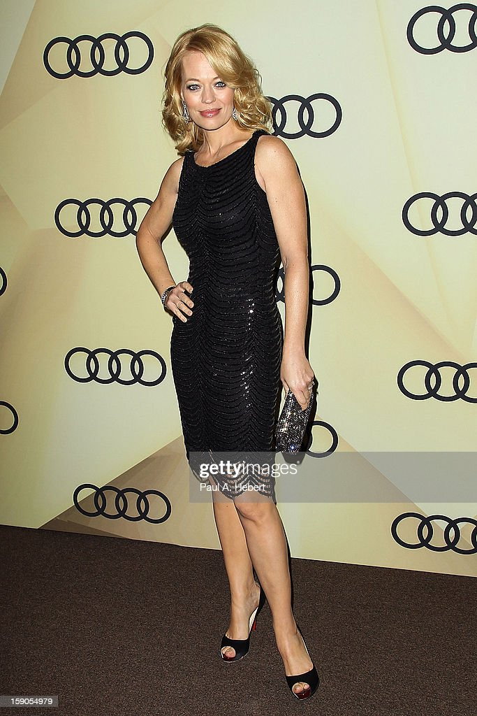 Actress Jeri Ryan arrives at the Audi Golden Globe 2013 Kick Off Party at Cecconi's Restaurant on January 6, 2013 in Los Angeles, California.