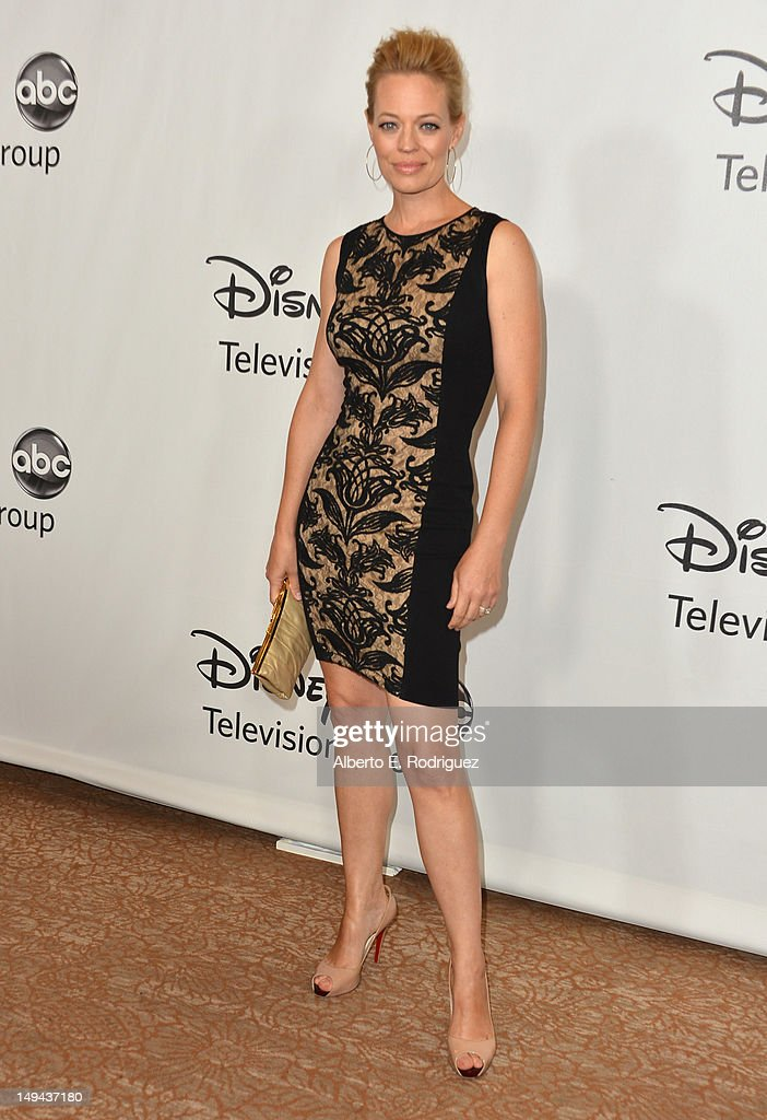 Actress Jeri Ryan arrives to the Disney ABC Television Group's 2012 'TCA Summer Press Tour' on July 27, 2012 in Beverly Hills, California.