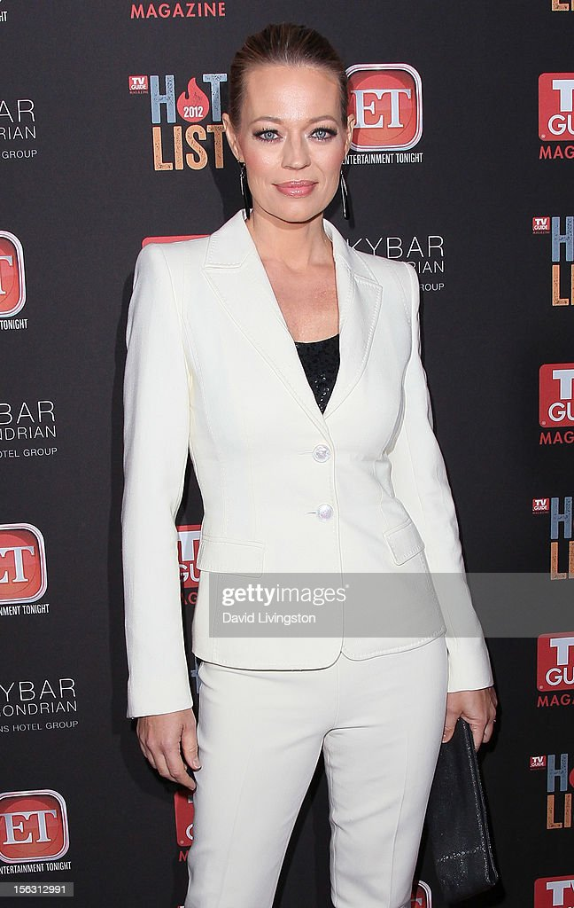 Actress Jeri Ryan attends TV Guide Magazine's 2012 Hot List Party at SkyBar at the Mondrian Los Angeles on November 12, 2012 in West Hollywood, California.