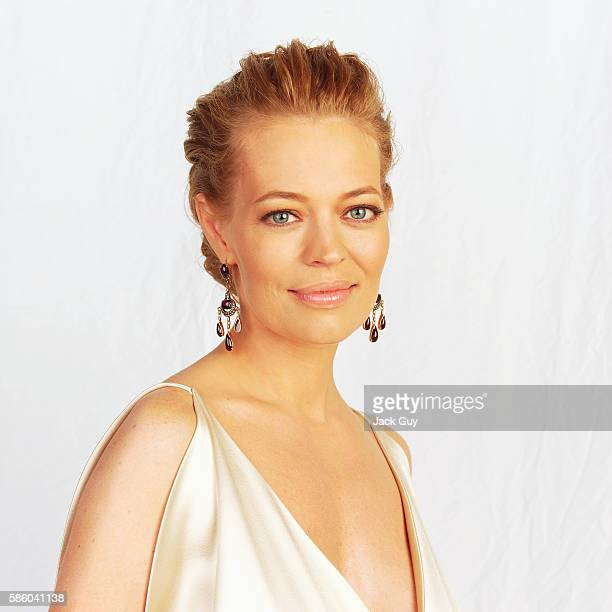 Actress Jeri Ryan is photographed for Emmy Magazine at the 55th Annual Emmy Awards on September 21 2003 in Los Angeles California