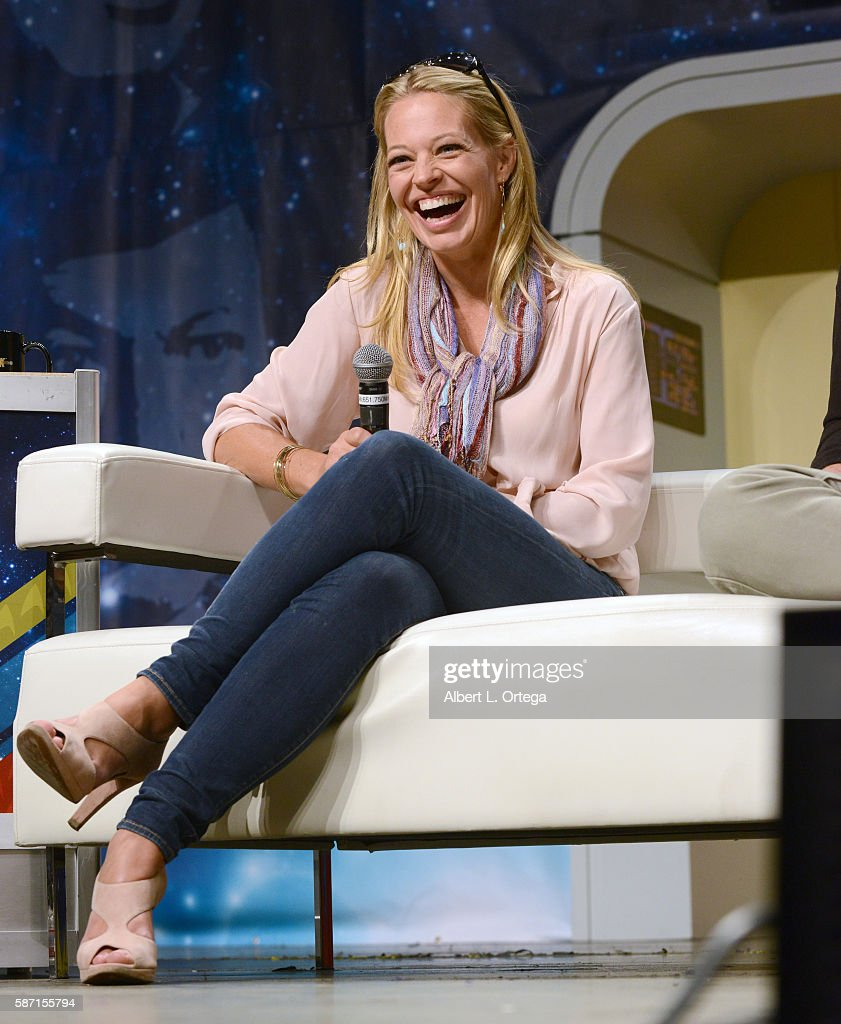 Actress Jeri Ryan on day 5 of Creation Entertainment's Official Star Trek 50th Anniversary Convention the Rio Hotel & Casino on August 7, 2016 in Las Vegas, Nevada.