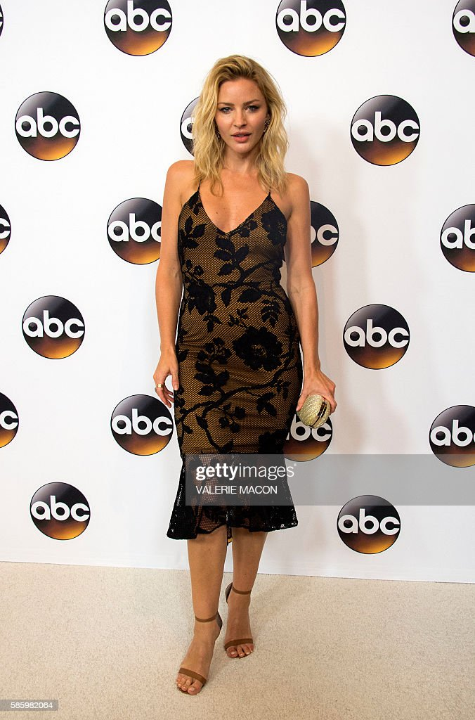Actress Jes Macallan attends The 2016 Disney ABC Television Group TCA Summer Press Tour in Beverly Hills California on August 4 2016 / AFP / VALERIE...
