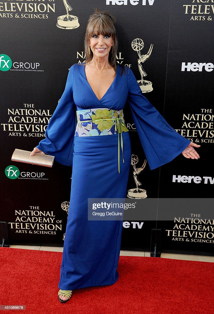Actress <a gi-track='captionPersonalityLinkClicked' href=/galleries/search?phrase=Jess+Walton&family=editorial&specificpeople=243212 ng-click='$event.stopPropagation()'>Jess Walton</a> arrives at the 41st Annual Daytime Emmy Awards at The Beverly Hilton Hotel on June 22, 2014 in Beverly Hills, California.