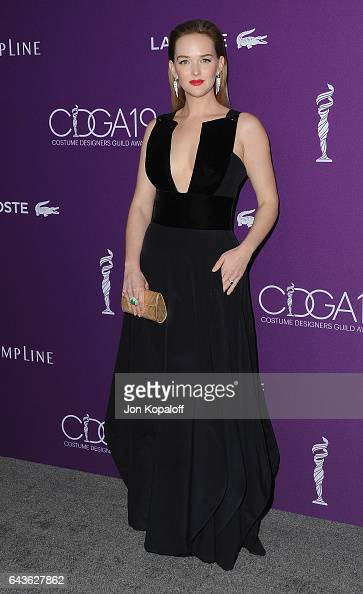 Actress Jess Weixler arrives at the 19th CDGA at The Beverly Hilton Hotel on February 21 2017 in Beverly Hills California