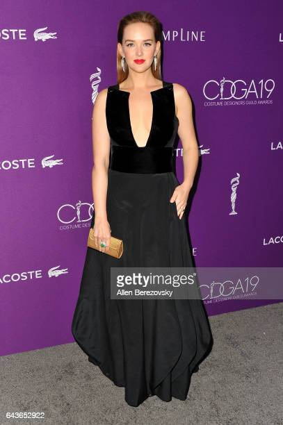 Actress Jess Weixler attends the 19th CDGA at The Beverly Hilton Hotel on February 21 2017 in Beverly Hills California