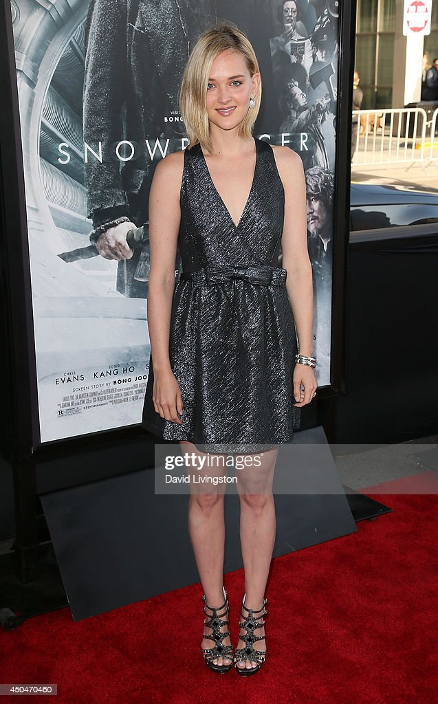 Actress <a gi-track='captionPersonalityLinkClicked' href=/galleries/search?phrase=Jess+Weixler&family=editorial&specificpeople=4117574 ng-click='$event.stopPropagation()'>Jess Weixler</a> attends the 2014 Los Angeles Film Festival opening night premiere of 'Snowpiercer' at Regal Cinemas L.A. Live on June 11, 2014 in Los Angeles, California.