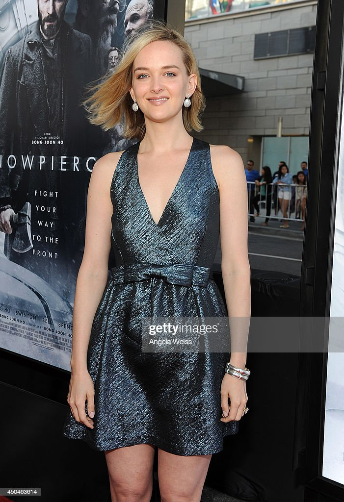 Actress Jess Weixler attends the opening night premiere of 'Snowpiercer' during the 2014 Los Angeles Film Festival at Regal Cinemas L.A. Live on June 11, 2014 in Los Angeles, California.