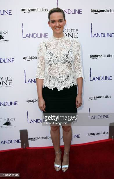 Actress Jess Weixler attends the premiere of Amazon Studios' 'Landline' at ArcLight Hollywood on July 12 2017 in Hollywood California