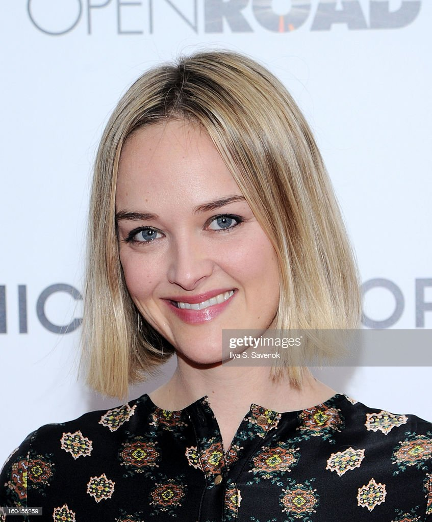 Actress Jess Weixler attends the premiere of 'Side Effects' hosted by Open Road with The Cinema Society and Michael Kors at AMC Lincoln Square Theater on January 31, 2013 in New York City.