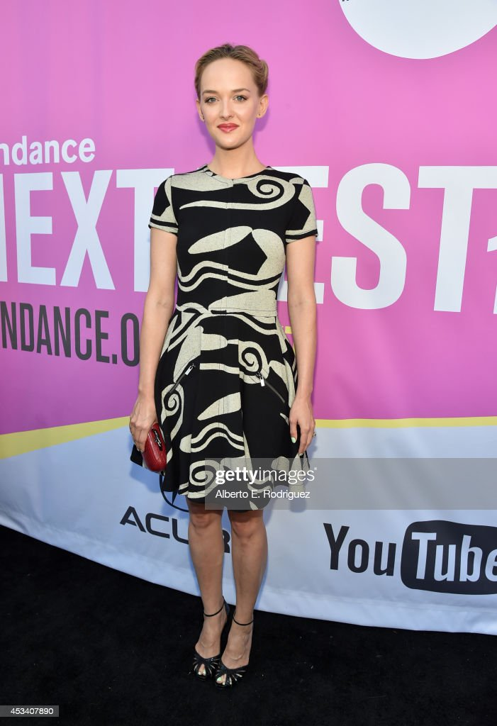 Actress <a gi-track='captionPersonalityLinkClicked' href=/galleries/search?phrase=Jess+Weixler&family=editorial&specificpeople=4117574 ng-click='$event.stopPropagation()'>Jess Weixler</a> attends the screening of 'Listen Up Philip' during Sundance NEXT FEST at The Theatre at Ace Hotel on August 9, 2014 in Los Angeles, California.