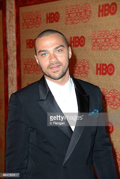 Actress Jesse Williams arrives at the HBO Golden Globe After Party at The Beverly Hilton Hotel on January 12 2014 in Los Angeles California