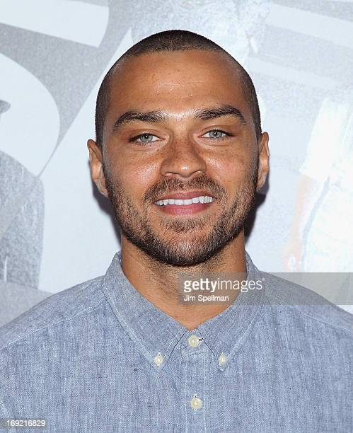 Actress Jesse Williams attends the 'Now You See Me' premiere at AMC Lincoln Square Theater on May 21 2013 in New York City