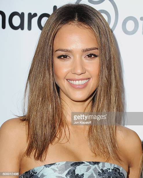 Actress Jessica Alba arrives at the 2015 March Of Dimes Celebration Of Babies at the Beverly Wilshire Four Seasons Hotel on December 4 2015 in...
