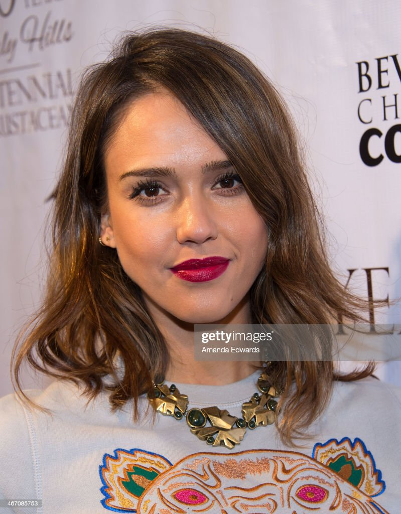 Actress <a gi-track='captionPersonalityLinkClicked' href=/galleries/search?phrase=Jessica+Alba&family=editorial&specificpeople=201811 ng-click='$event.stopPropagation()'>Jessica Alba</a> arrives at The Beverly Hills Chamber Of Commerce's