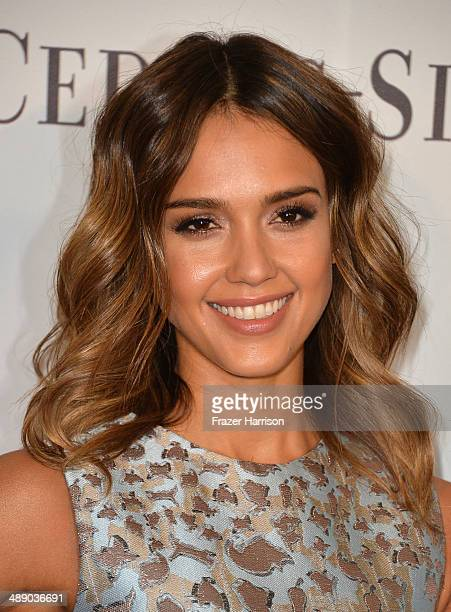 Actress Jessica Alba arrives at The Helping Hand of Los Angeles Mother's Day Luncheon at The Beverly Hilton Hotel on May 9 2014 in Beverly Hills...