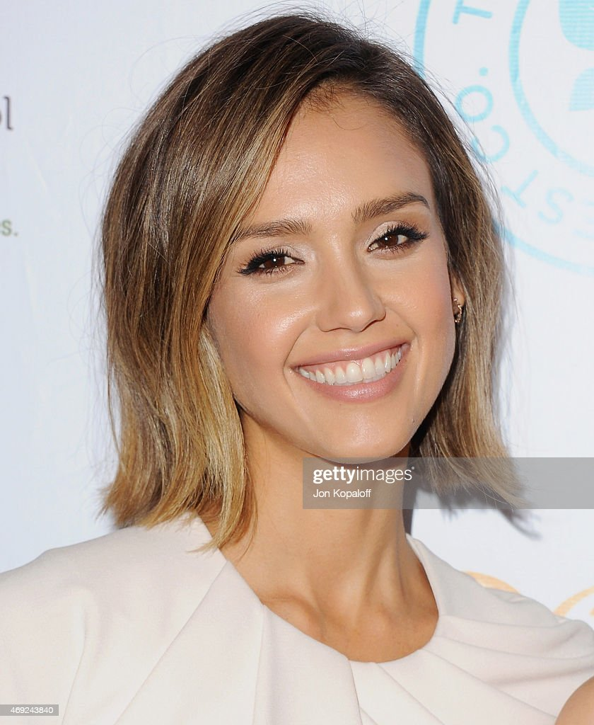 Actress Jessica Alba arrives at The Independent School Alliance For Minority Affairs Impact Awards Dinner at Four Seasons Beverly Wilshire Hotel Los Angeles at Beverly Hills on March 17, 2015 in Los Angeles, California.