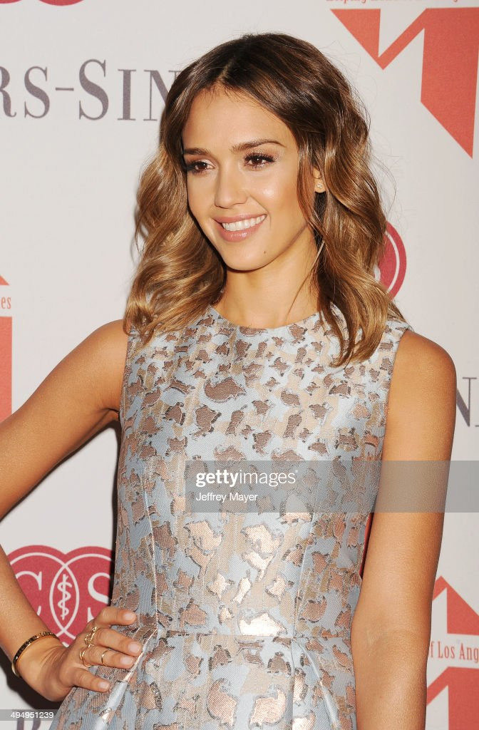 Actress <a gi-track='captionPersonalityLinkClicked' href=/galleries/search?phrase=Jessica+Alba&family=editorial&specificpeople=201811 ng-click='$event.stopPropagation()'>Jessica Alba</a> arrives at the The Helping Hand Of Los Angeles Mother's Day Luncheon at The Beverly Hilton Hotel on May 9, 2014 in Beverly Hills, California.
