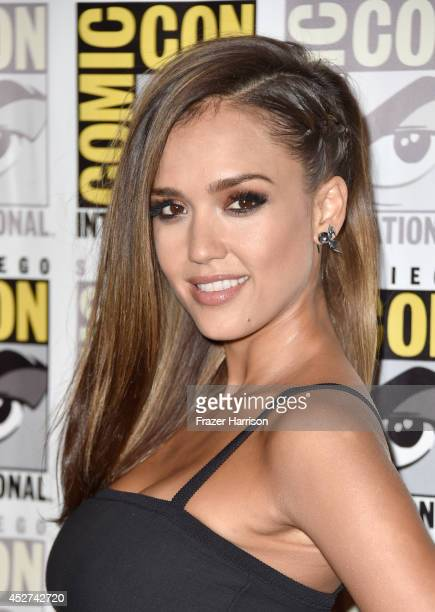 Actress Jessica Alba attends 'Frank Miller's Sin City A Dame To Kill For' Press Line during ComicCon International 2014 at Hilton Bayfront on July 26...