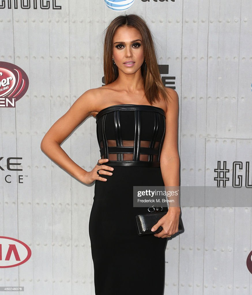 Actress Jessica Alba attends Spike TV's 'Guys Choice 2014' at Sony Pictures Studios on June 7, 2014 in Culver City, California.