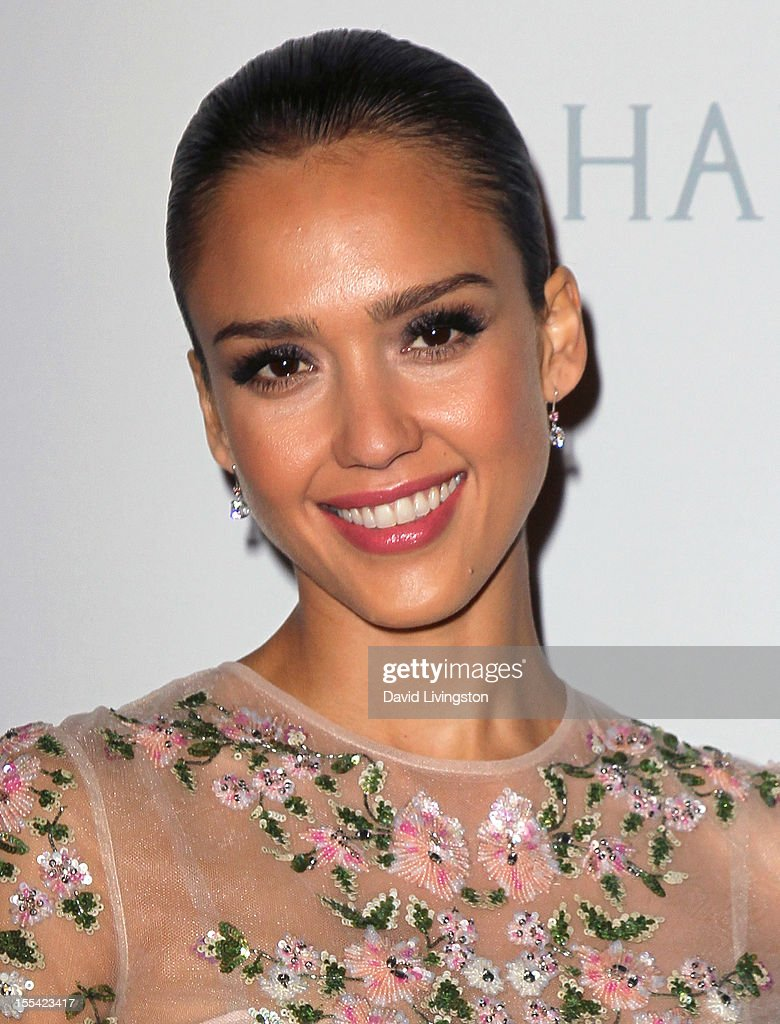 Actress Jessica Alba attends the 1st Annual Baby2Baby Gala at The BookBindery on November 3, 2012 in Culver City, California.