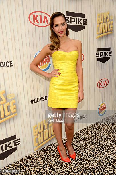 Actress Jessica Alba attends the 2013 Spike TV Guys Choice at Sony Pictures Studios on June 8 2013 in Culver City California