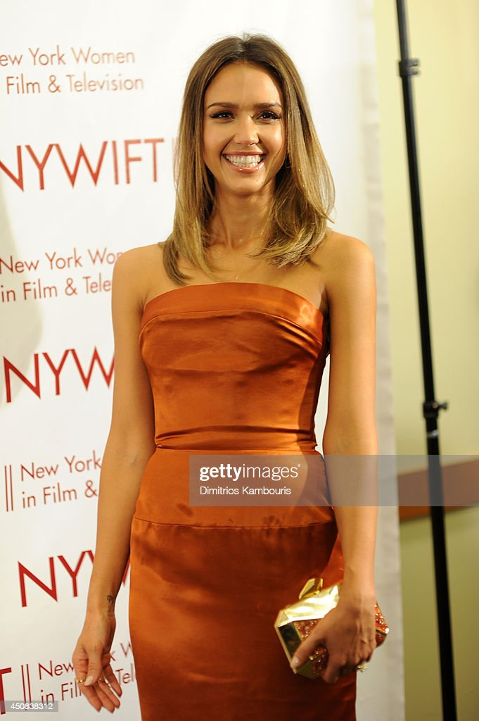Actress Jessica Alba attends the 2014 New York Women In Film And Television 'Designing Women' Awards Gala at McGraw Hill Building on June 18, 2014 in New York City.