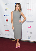 Actress Jessica Alba attends the 2015 Forbes Women's Summit Transforming The Rules Of Engagement at Pier 60 on June 10 2015 in New York City